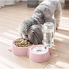 ОПТ Кормушка для собак і кішок з дозатором води DOG & Cat bowl посуд, фото 5