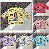 Подростковая футболка-топ LOVE для девочек 8-14 лет,цвет уточняйте при заказе
