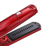 Прасочка для волосся Kemei ZFQ-KM-3011   вирівнювач   випрямляч   утюжок для випрямлення, фото 6