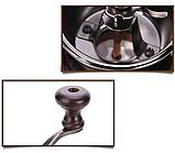 Ручна кавомолка дерев'яна Benson BN-184 | подрібнювач кави Бенсон, вінтажний апарат для помелу кави Бэнсон, фото 2