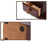 Кофемолка ручная деревянная Benson BN-184 | измельчитель кофе Бенсон, винтажный аппарат для помола кофе Бэнсон, фото 3