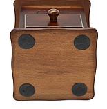 Ручна кавомолка дерев'яна Benson BN-184 | подрібнювач кави Бенсон, вінтажний апарат для помелу кави Бэнсон, фото 7