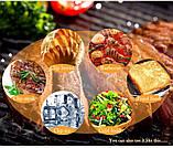 Щипці для м'яса Benson BN-273 з нержавіючої сталі   столові прилади   кухонне приладдя з нержавіючої сталі, фото 6