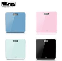 Весы напольные DSP KD7001 электронные квадратные домашние до 180 кг
