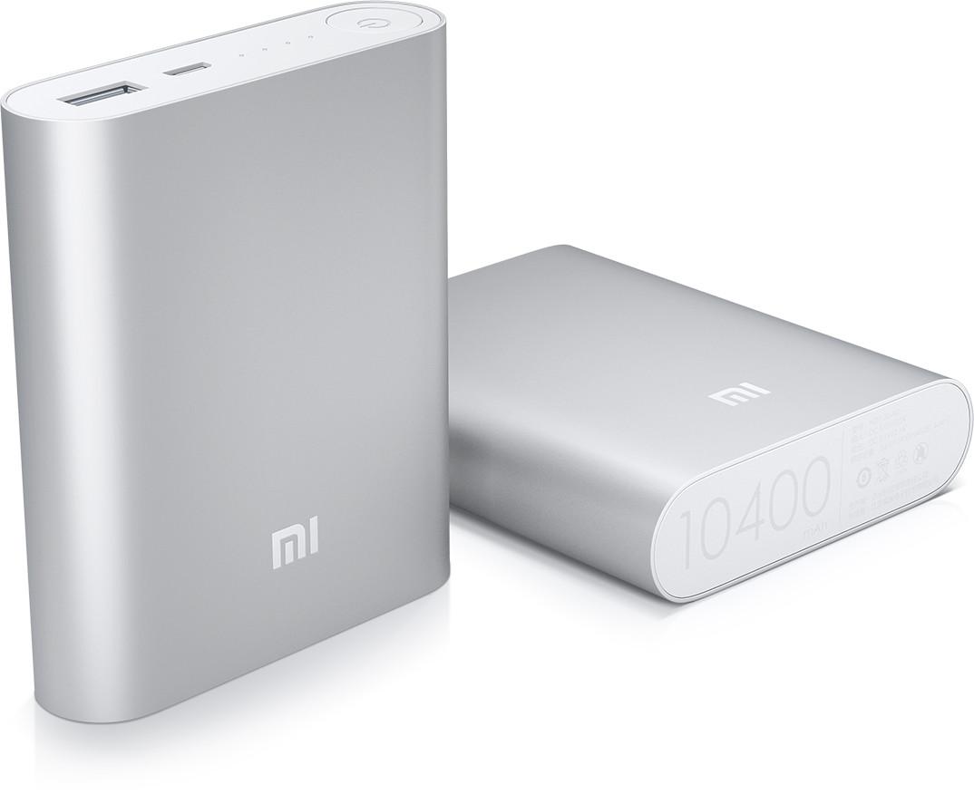 Портативний зарядний пристрій Xiaomi Mi Powerbank 10400mAh павер банк