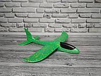 Сверх быстрый метательный самолет планер трюкач на дальнее расстояние (Зеленый)