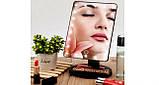 Дзеркало для макіяжу з LED підсвічуванням Magic MakeUp Mirror прямокутне БІЛЕ, фото 8
