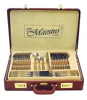 Столовий набір Maestro MR-1519-72 Фраже 72 предмета   Набір столових предметів у валізі Маестро, Маестро