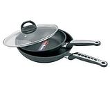 Сковорода с крышкой Maestro MR-1207-22 (антипригарное покрытие Quan Tanium, 22 см) | сотейник Маэстро, Маестро, фото 3