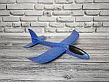 Сверх быстрый метательный самолет планер трюкач на дальнее расстояние (Фиолетовый), фото 5