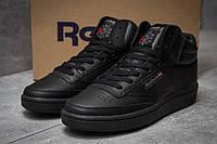 Мужские кроссовки в стиле Reebok Рибок Club C 85 Face Black, черные 44 (28 см), KS 105