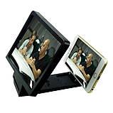 3D збільшувач екрана телефону Enlarge screen F1   універсальне збільшувальне скло, фото 9