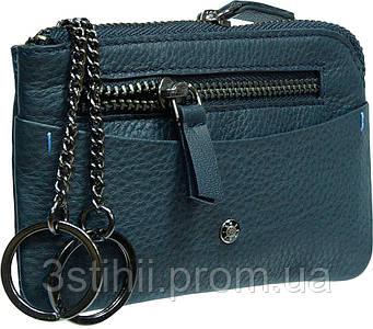 Ключница кожаная Tony Perotti Timone 11002-T navy Синяя