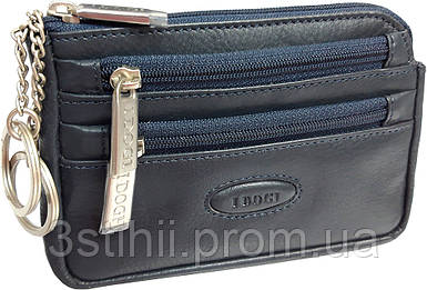 Ключница кожаная Tony Perotti Cortina 5016-CR navy Синяя