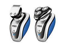 Чоловіча електробритва VGR V-300 USB | акумуляторна машинка для гоління і стрижки
