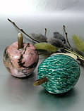 Сувенир Яблоко амазонит, фото 2