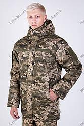 Бушлат ЗСУ Зимовий Військовий Патріот Піксель
