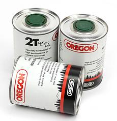 Моторне масло Oregon 2T ж/б (1л) для 2-х тактних двигунів | масло Орегон 2т для двотактних двигунів