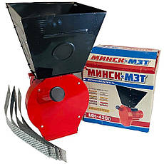 Зернодробарка Мінськ-МЗТ МК-4200 (4,2 кВт, 240 кг/годину) | кормоізмельчітель, крупорушка, дробарка,