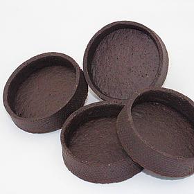 Тарт шоколадний напівфабрикат 72 шт в коробці
