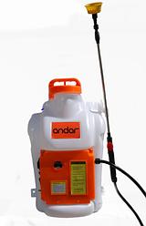 Обприскувач акумуляторний ANDAR Battery Sprayer 18L | електричний розпилювач для рослин Андар 18 л