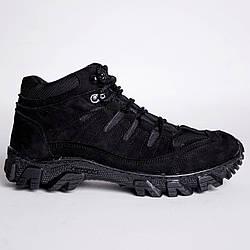 Ботинки Тактические, Зимние Альфа Черные