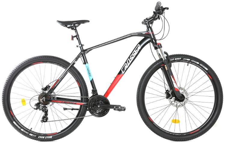 """Велосипед Crosser Jazzz 29"""" Hydraulic LTWOO+SHIMANO рама 21"""" черв.   Гірський велосипед гідравліка Кроссер"""