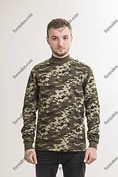 Гольф Військовий з начосом Зимовий Прикордонник