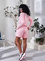 Модный спортивный костюм с шортами  030 В/06, фото 1