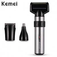 Чоловіча електробритва Kemei KM 1210 3 в 1 | тример | машинка для стрижки волосся