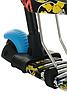 Беговел Scooter 18-2 від 1 року блакитний | триколісний самокат з кошиком, сидінням і батьківською ручкою, фото 6