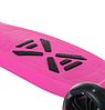 Самокат дитячий SF508 рожевий до 60 кг | триколісний міні самокат з світяться PU колесами і гальмами, фото 4