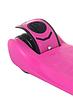 Самокат дитячий SF508 рожевий до 60 кг | триколісний міні самокат з світяться PU колесами і гальмами, фото 6