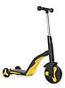 Беговел 3 в 1 FL868 з музикою жовтий (від 1 року) дитячий триколісний велосипед, самокат з підсвічуванням, фото 6