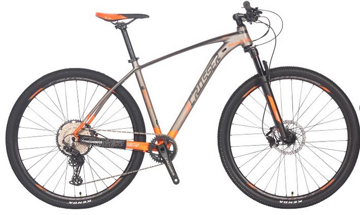 """Велосипед Crosser Deore X880 29"""" рама 19"""" серо-оранжевый   Горный велосипед Кроссер Деоре"""