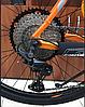 """Велосипед Crosser Deore X880 29"""" рама 19"""" серо-оранжевый   Горный велосипед Кроссер Деоре, фото 3"""