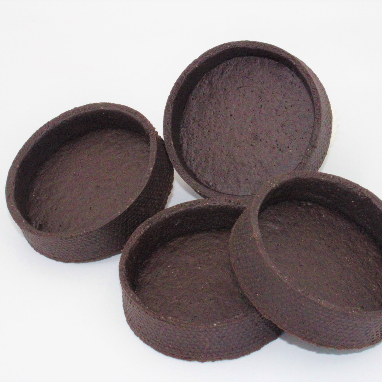 Шоколадний тарт напівфабрикат 72 шт в коробці