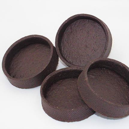 Шоколадний тарт напівфабрикат 72 шт в коробці, фото 2