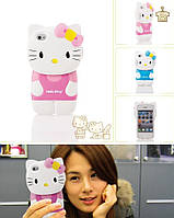 "Силиконовый чехол ""Kitty"" для iPhone 4/4s"