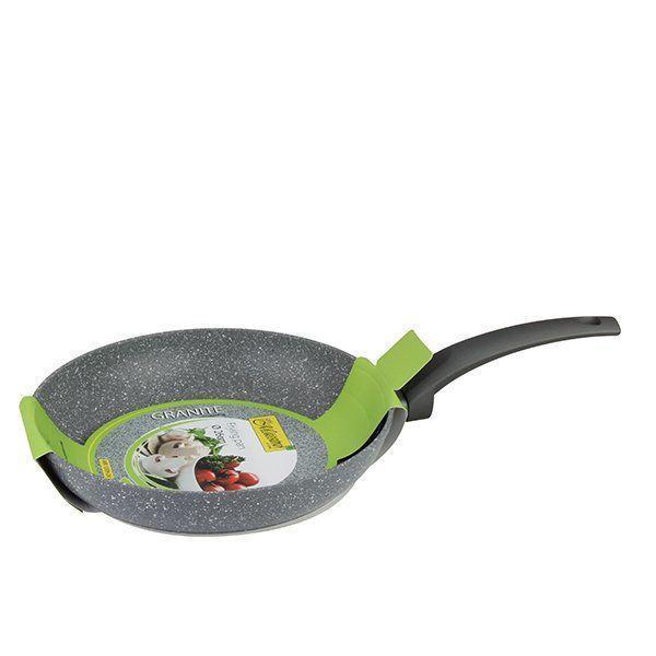 Сковорода Maestro MR-1209-24 (антипригарне покриття Granite, Ø 24 см) | сотейник Маестро | сковорідка Маестро
