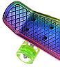 Пенні Борд - скейт Penny Board 26 Хамелеон зі світними колесами, двосторонній забарвлення   пенниборд, фото 5