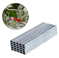Скоби для садового степлера для підв'язки рослин (SONO 604С/10тис.шт) | скоби з сталі для тапенера