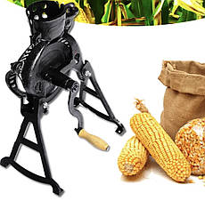Ручна лущилка для кукурудзи ЛЩ-1 на ніжках | Кукурузолущилка ручна для качанів кукурудзи 150-200 кг в годину
