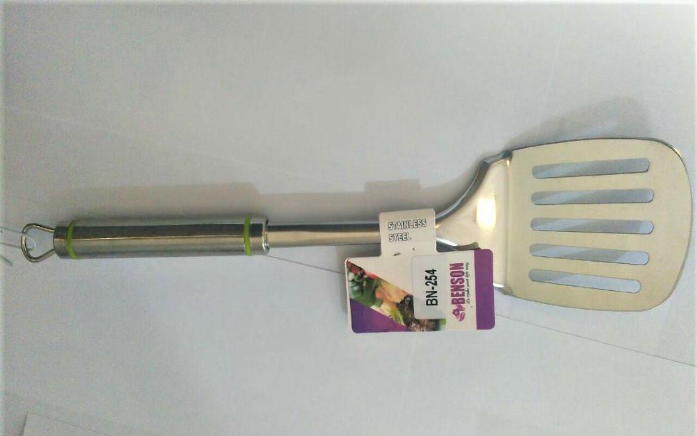 Лопатка Benson BN-254 з нержавіючої сталі | столові прилади | кухонне приладдя з нержавіючої сталі