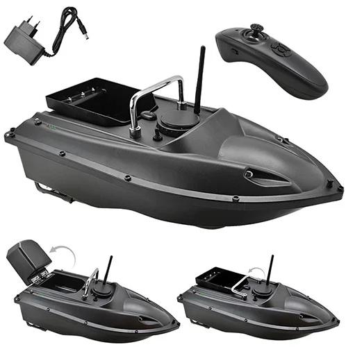 Прикормочный кораблик для риболовлі з пультом з 1 бункером | Човен, катер для підгодовування риби на