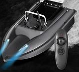 Прикормочный кораблик для риболовлі з пультом з 1 бункером | Човен, катер для підгодовування риби на, фото 2