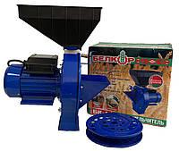 Зернодробарка Белкор БК-1 (240 кг/годину)   кормоізмельчітель, крупорушка, дробарка, корморезка