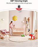 Комплект відеокамер відеоспостереження Victure PC420 WiFi Ip відеоняня 2шт 1080p, фото 3