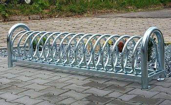 Велопарковка на 6 велосипедів Viro-6 Stand Польща