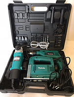 Набор электроинструментов MAKITA в кейсе Лобзик+Дрель+Шлифовальная машина | Комплект инструментов 3в1